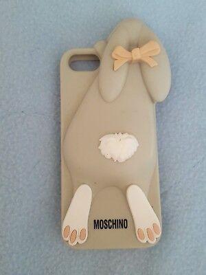 pretty nice d4d4b 6179a Designer MOSCHINO Rabbit Silicone Case iPhone 5 5S | eBay