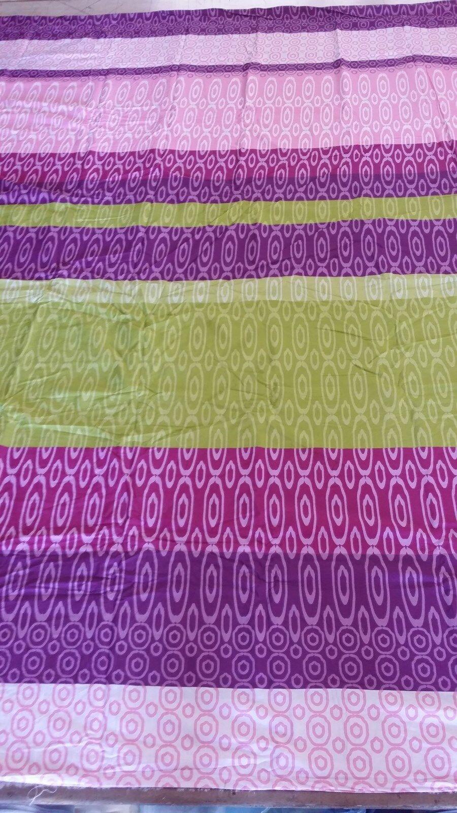 lila Stripes 100% Cotton Waterbed Sheet Set Pole Attachment - all Größes, Print