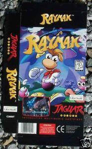Cuadro De Visualizacion Rayman Juego Atari Jaguar Nuevo Ebay