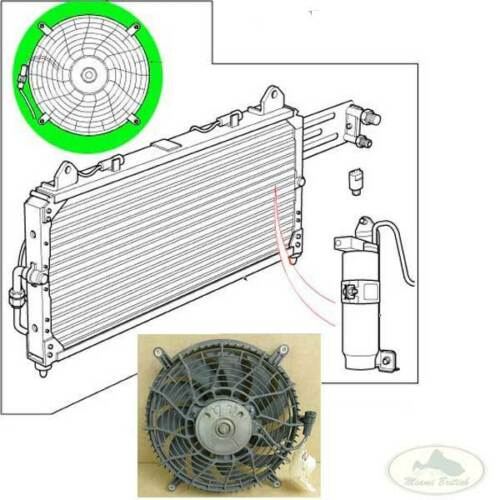 LAND ROVER AC A//C AIR CONDITIONED FAN BLADE DISCOVERY 2 II JRP100000 USED