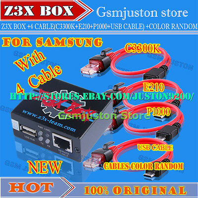 Z3X pro Box For Samsung Activate + 4 Cables update S5,S6,s7 | eBay