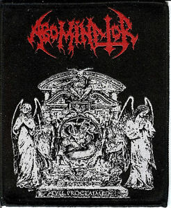 Abominator-Evil-Patch-Nuclear-War-Now-Cemetary-Urn-Death-Metal-Hells-Headbanger