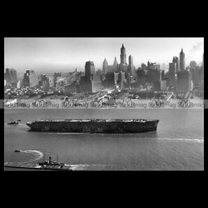 php-02751-Photo-USS-LAFAYETTE-PAQUEBOT-NORMANDIE-NEW-YORK-OCEAN-LINER-PAQUEBOT