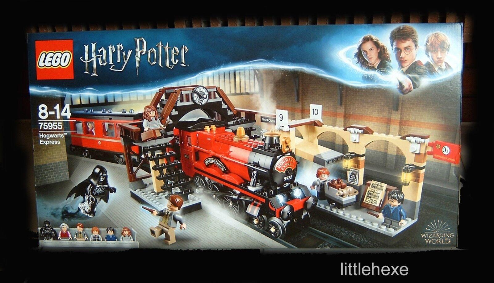 Lego Harry Potter 75955 Poudlard Express 2018 Nouveau Neuf dans sa boîte immédiatement disponible