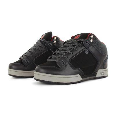 Militia Snow Black Leather Boots Ettala