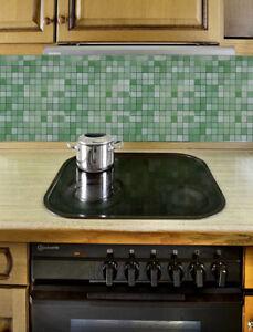 Details zu Spritzschutz Dekofolie Klebefolie Spritzschutzfolie  selbstklebend Küche Küchen