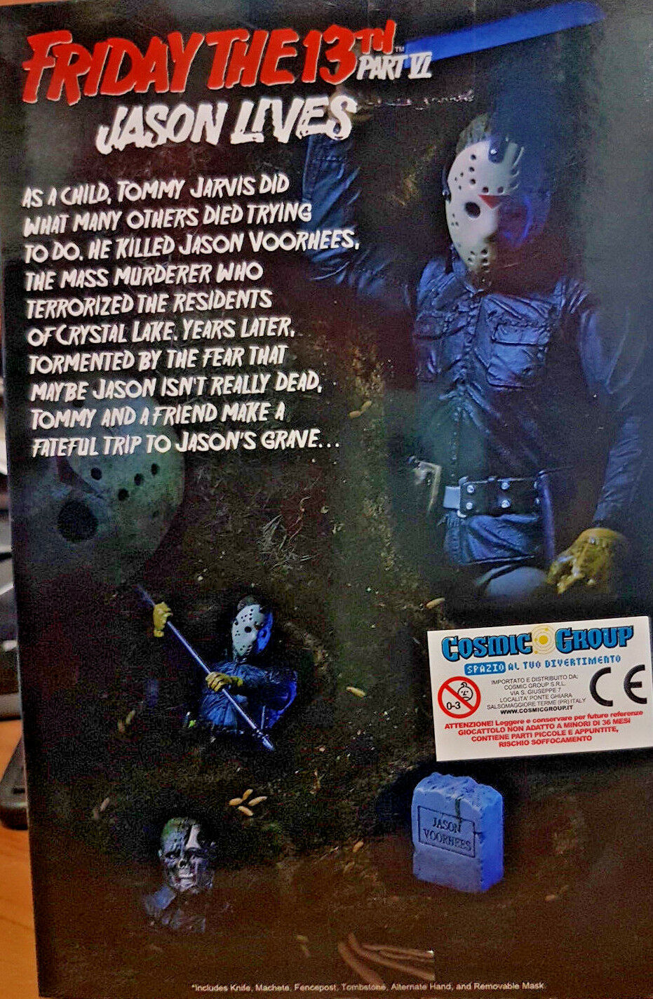 Jason Venerdì 13 Parte 6 6 6 Friday the 13th Part VI - Neca 17cm - Action Figure f80b26