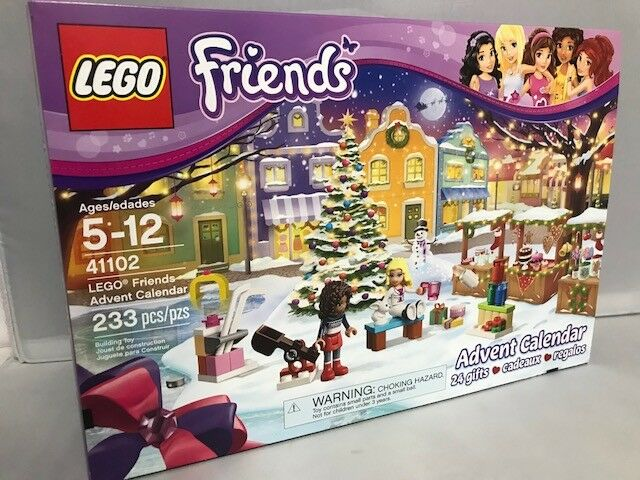 Lego - Friends Advent Calendar 233 PCS. 24 Gifts,