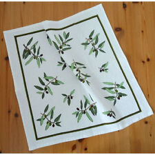 FROTTEE Geschirrtuch Küchentuch Handtuch Küchenhandtuch OLIVE Baumwolle 50x50cm