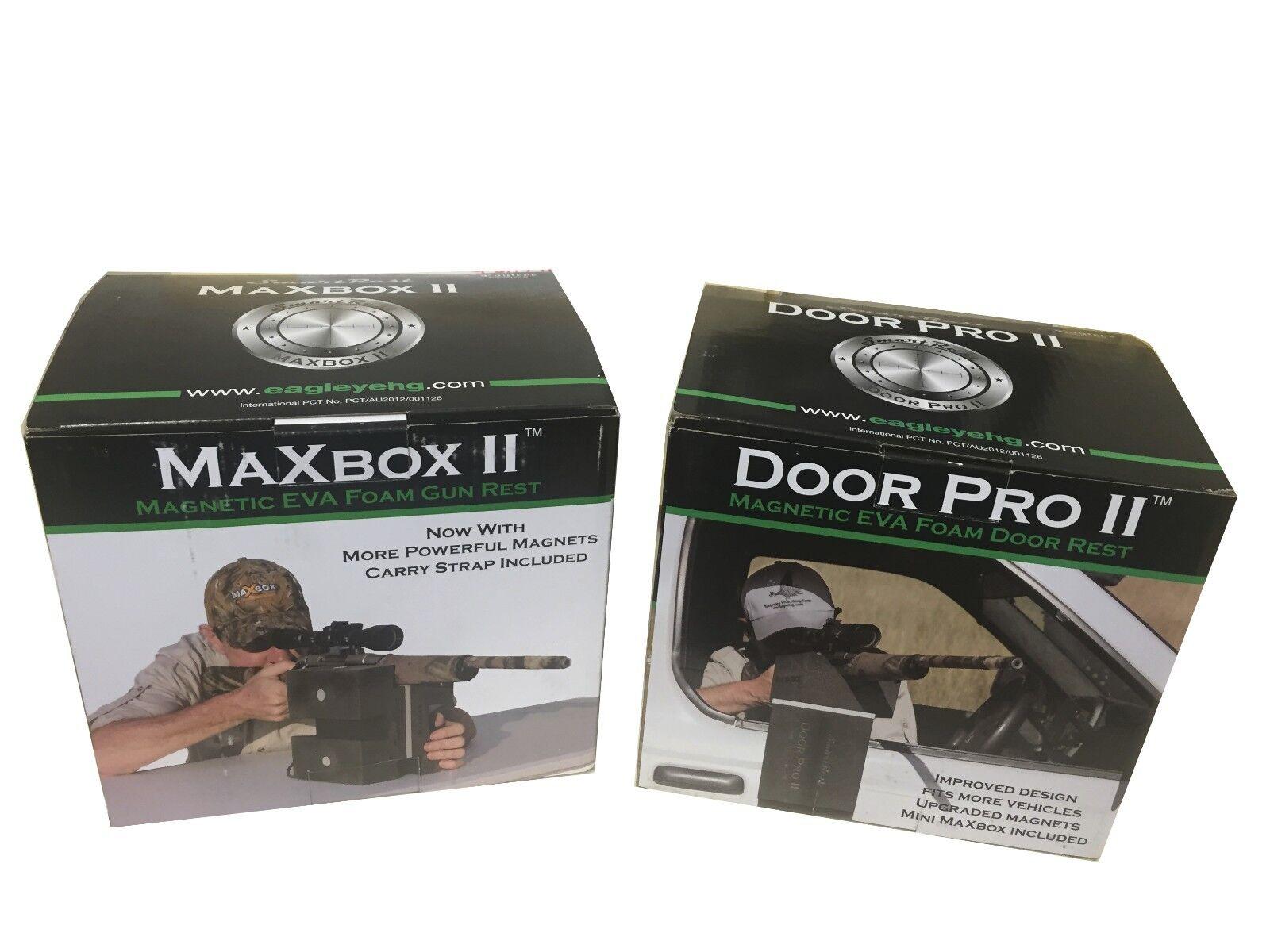 MaXbox II and Door Pro II Combo Deal - SmartRest Rifle Rests - NEW