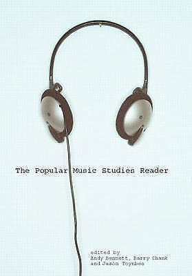 Popular Music Studies Reader  BOOK NEW
