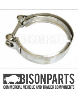 BP103-393 *FITS DAF LF45 2001 ON LF55 21895 EXHAUST CLAMP D:116//89mm