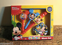 Disney Mickey Mouse Clubhouse Boxed Music Set Musical Instruments