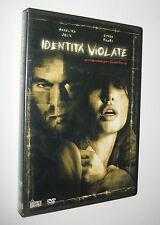 D. J. Caruso IDENTIà VIOLATE - dvd + booklet