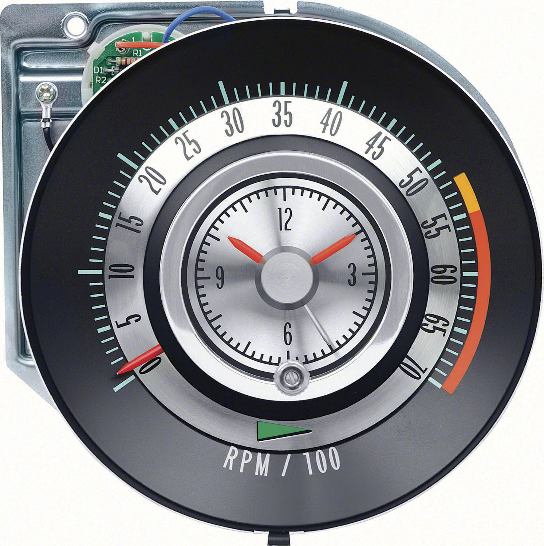 1968 68 Chevrolet Camaro Tic Toc Tach 5500 Gauges Ebay Wiring Diagram Norton Secured Powered By Verisign