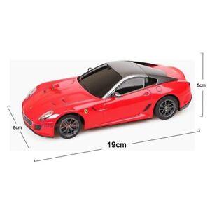 Image Is Loading Licensed Rastar 1 24 Scale Red Ferrari 599