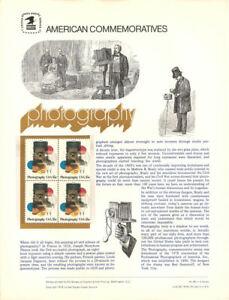 98-13c-Photography-Art-1758-USPS-Commemorative-Stamp-Panel