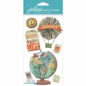 Jolee-039-s-Boutique-Dimensional-Stickers-Map-Medallions-Jolees-Stickers