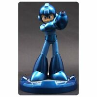 2016 Capcom Mega Man Blue Megaman 25th Anniversary 9 Inch Resin Statue Usa