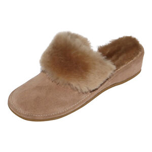 7069dd0a0 Image is loading Sheepskin-Slippers-Slippers-Morocco-Beige-Fur-Shoes-Ladies-