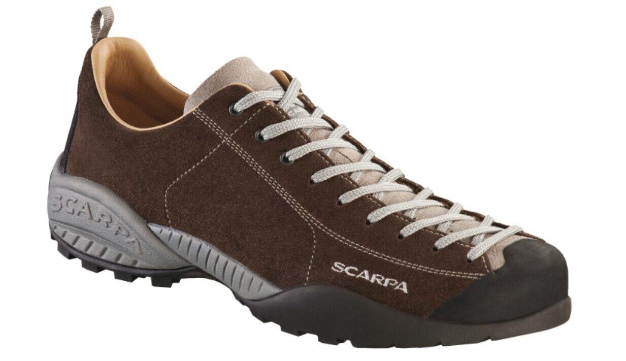 Scarpa Mojito Leather Cocoa the Legendary Mojito with Leather Lining