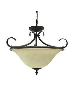 Image is loading Epiphany-Lighting-18-034-Semi-Pendant-Light-Fixture-  sc 1 st  eBay & Epiphany Lighting 18