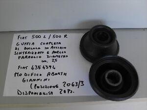 CUFFIA SEMIASSE FIAT 500 L-R 126 abarth giannini +boccola acciaio+paraolio 2PZ.