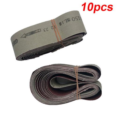 Metall Schleif Gürtel Sandpapier Polierpad Set 60 120 150 240 Körnung 686*50mm