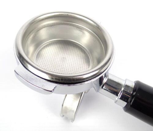2 Spout ELEKTRA 58mm Portafilter Coffee Espresso Machine Handle 14g Basket