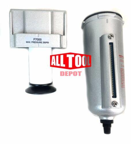 "3//4/"" Compressed Air In Line Moisture /& Water Filter Trap Compressor Auto Drain"
