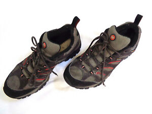 Merrell Moab Gore Tex Mens Hiking Shoes Boots Vibram Sz 9 - Great Condition