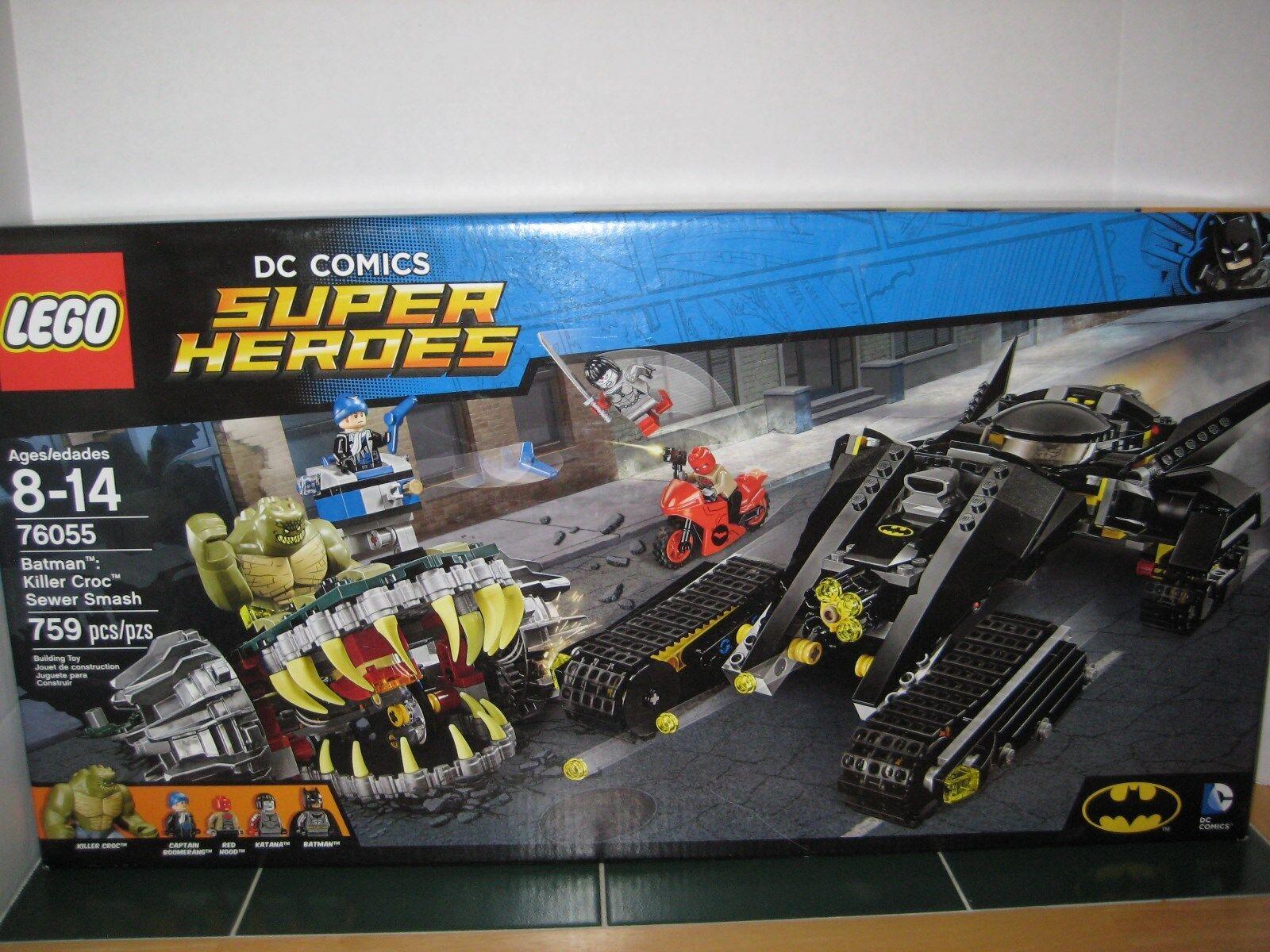 LEGO DC Comics Super Heroes Batman Killer Killer Killer Croc Sewer Smash d31224