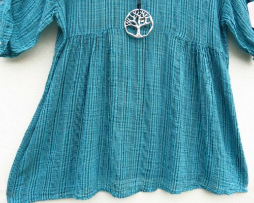 40 New 80 42 Tunika Leinen Collection Bluse Tunic Tunique Tunica M Lagenlook 0xZ0n