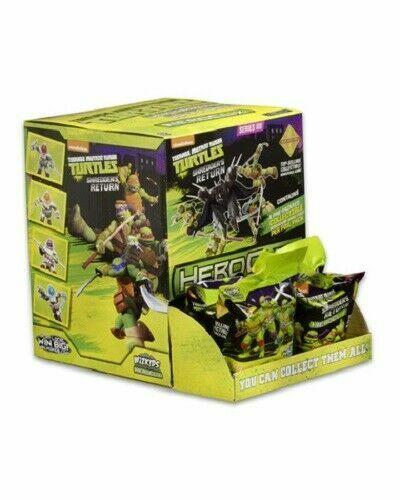Teenage Mutant Ninja Turtles TEENAGE MUTANT NINJA TURTLES Heroclix trituradora de devolución Gravity Feed Displa