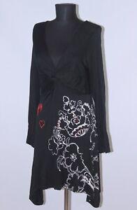 Desigual-49t2426-Vestido-Tunica-Para-Mujer-Talla-L