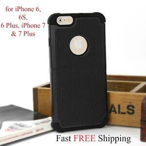 iPhone-6-6S-6-Plus-7-amp-7-Plus-2-Piece-Case-Shock-Proof-Heavy-Duty-Armor-Cover