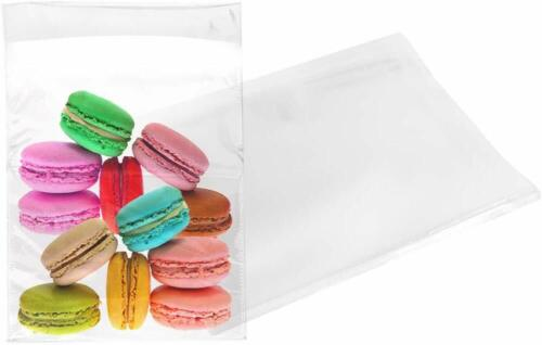 """100pcs Resealable Poly Bags Clear Opp Bag Plastic Bags Self Seal 7.5/"""" x 9/"""" 1.5/"""""""