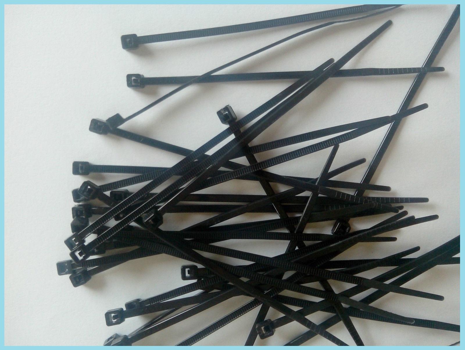 2,5 mm Collier de serrage plastique attache câble Colson rislan 60 mm
