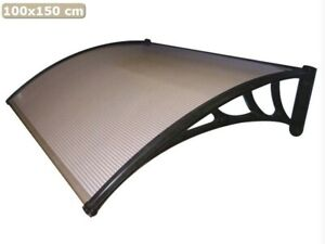 Auvent Pour Extérieur Cm 100x150 Canopy Réglable Pour Fenêtre Et