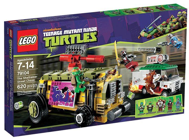 LEGO ® Teenage Mutant Ninja Turtles 79104 ShellRaiser Street Chase NEW En parfait état, dans sa boîte scellée Boîte d'origine jamais ouverte