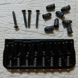 Black Hipshot Guitar String Ferrules
