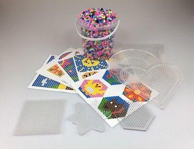 WohltäTig Steckperlen Bügelperlen Xxl Set Spielzeug