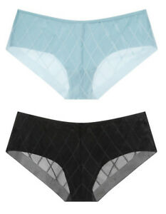 Victorias Secret Black No Show High Waist Seamless Brief Panty XS S M XL
