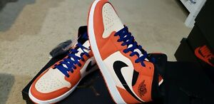 Nike Air Jordan Retro I 1 Mid SE Team Orange Black-CrimsonTint ... 78da2fab3