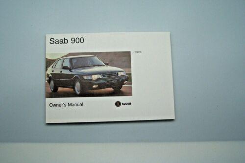 1994 saab 900 owners manual  new original