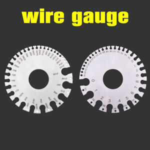 Stainless steel swg wire gauge measure wire thickness sheet steel image is loading stainless steel swg wire gauge measure wire thickness greentooth Choice Image