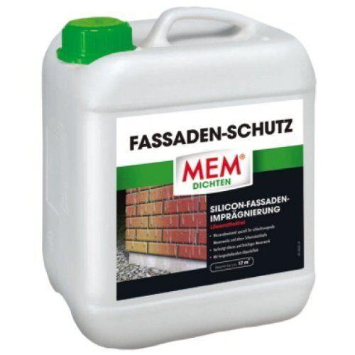 MEM Fassadenschutz 10 Liter // Fassaden Imprägnierung // Ziegel // Klinker