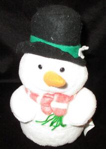 Target Christmas Snowman Gift Card Holder 2007 Plush Stuffed Animal