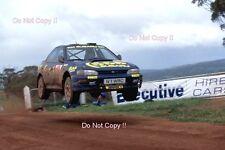 Colin McRae Subaru Impreza 555 Australian Rally 1996 Photograph