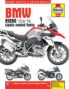 Haynes-Manual-6281-BMW-R1200GS-R1200RT-Liquid-Cooled-Twins-2013-2016